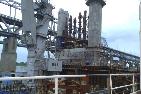 Строительство Керченского моста идет с опережением графика