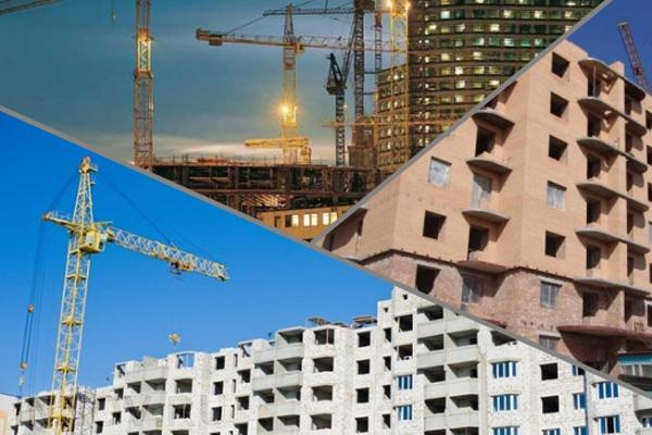 В микрорайоне «Одинбург» продолжается строительство жилых зданий