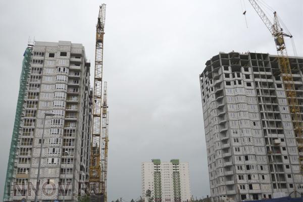 Ввод жилой недвижимости в России сократился на 22%