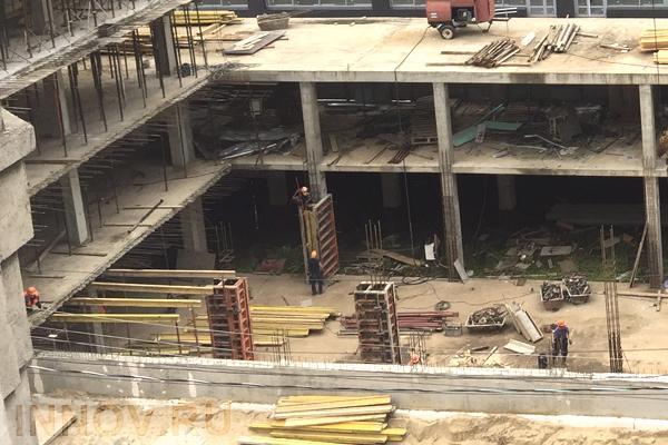 В квартале «Свобода» завершены начальные строительные работы на площадках двух корпусов