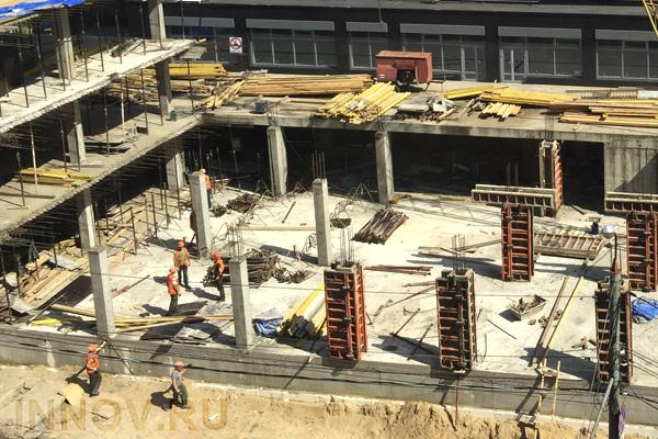 На месте Черкизовского рынка в Москве начали строить жилье под реновацию