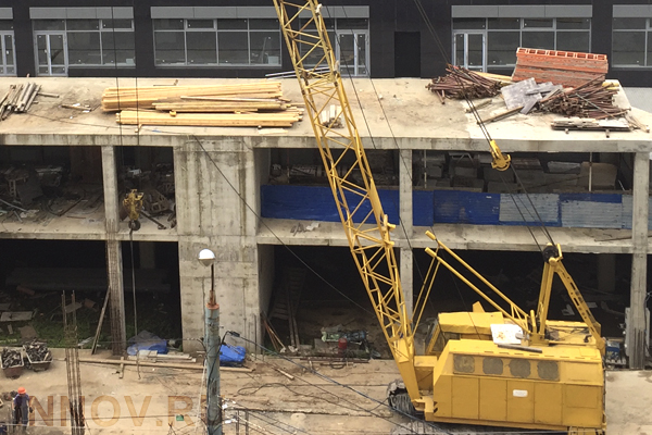 В комплексе «Жизнь на Плющихе» ведутся работы первого этапа строительства