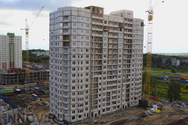 В России вырос ввод жилья