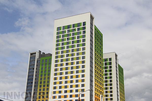 В квартале «Резиденции архитекторов» можно приобрести вместительную пятикомнатную квартиру