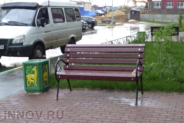 В Москве появится самая длинная в мире скамейка