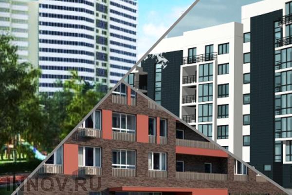 В жилом комплексе «Лесобережный» возводятся два новых жилых дома