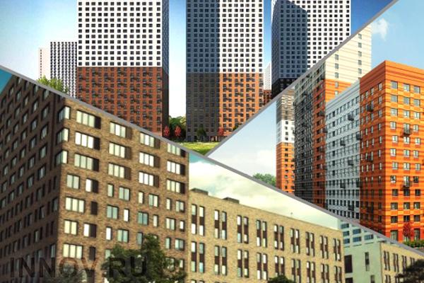 Более шестидесяти проектов выйдут на московский рынок недвижимости в 2018-м году