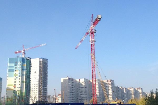 Ввод жилья в России продолжает расти