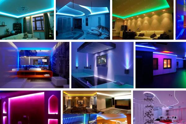 Освещение дома светодиодами - правильный шаг в сторону экономии и эстетики