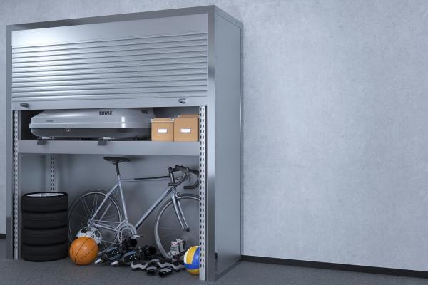 Функциональное хранение вещей на паркинге
