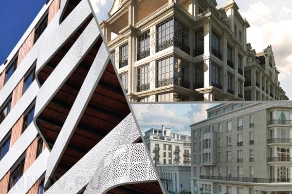 В проекте «Жизнь на Плющихе» возвели демонстрационный фасад