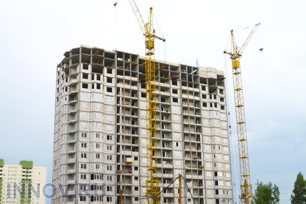 В Ленинском районе возводится новый жилой дом