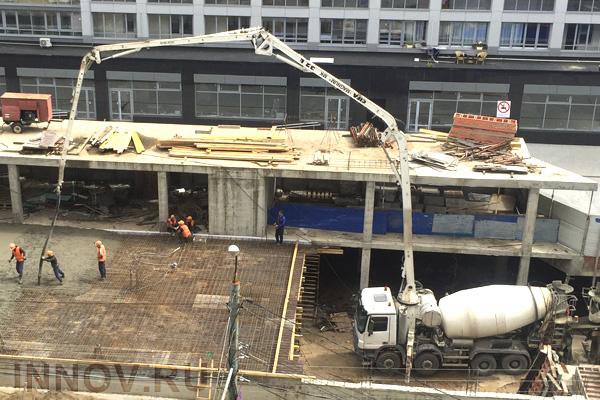 Золошлаковые отходы в составе бетона