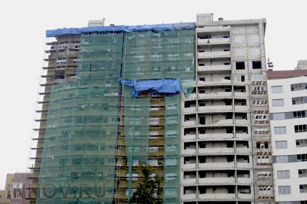 Применение фасадной сетки