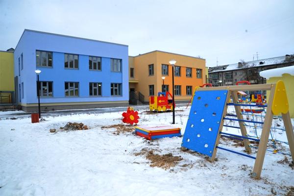 Детский сад построили в квартале «Видный берег»