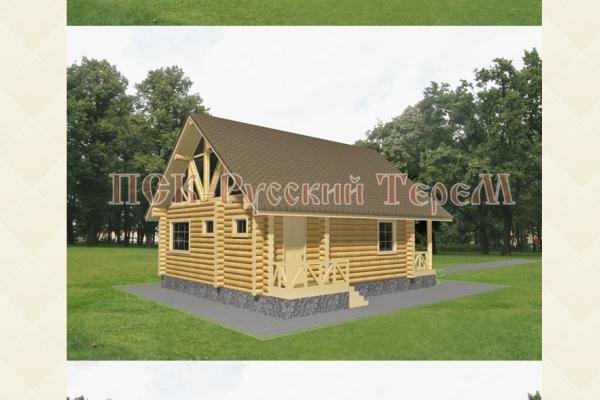 Рубленый дом: от проекта до новоселья