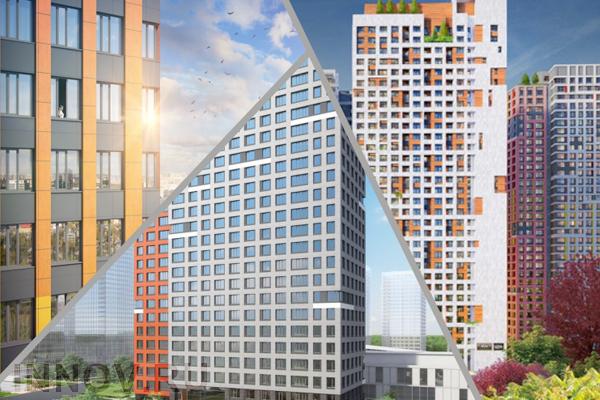 В Химках построили три многоэтажные здания