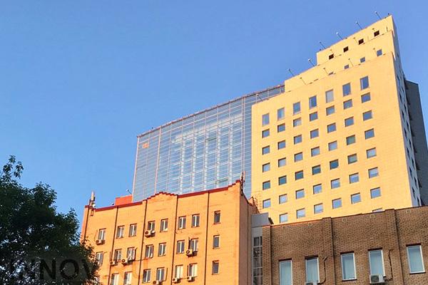 В столице завершилось возведение многофункционального комплекса с баней