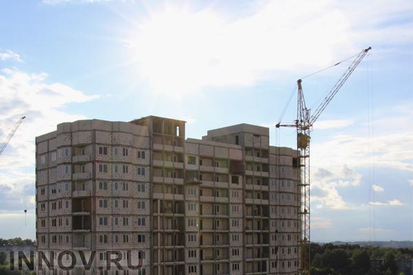 В микрорайоне «Зелёный бор» возводят новый жилой дом