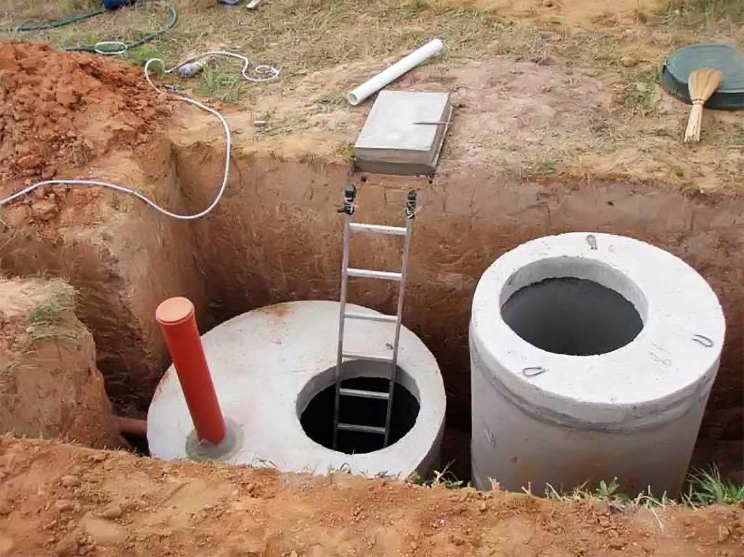 Как правильно вкопать бетонные кольца?