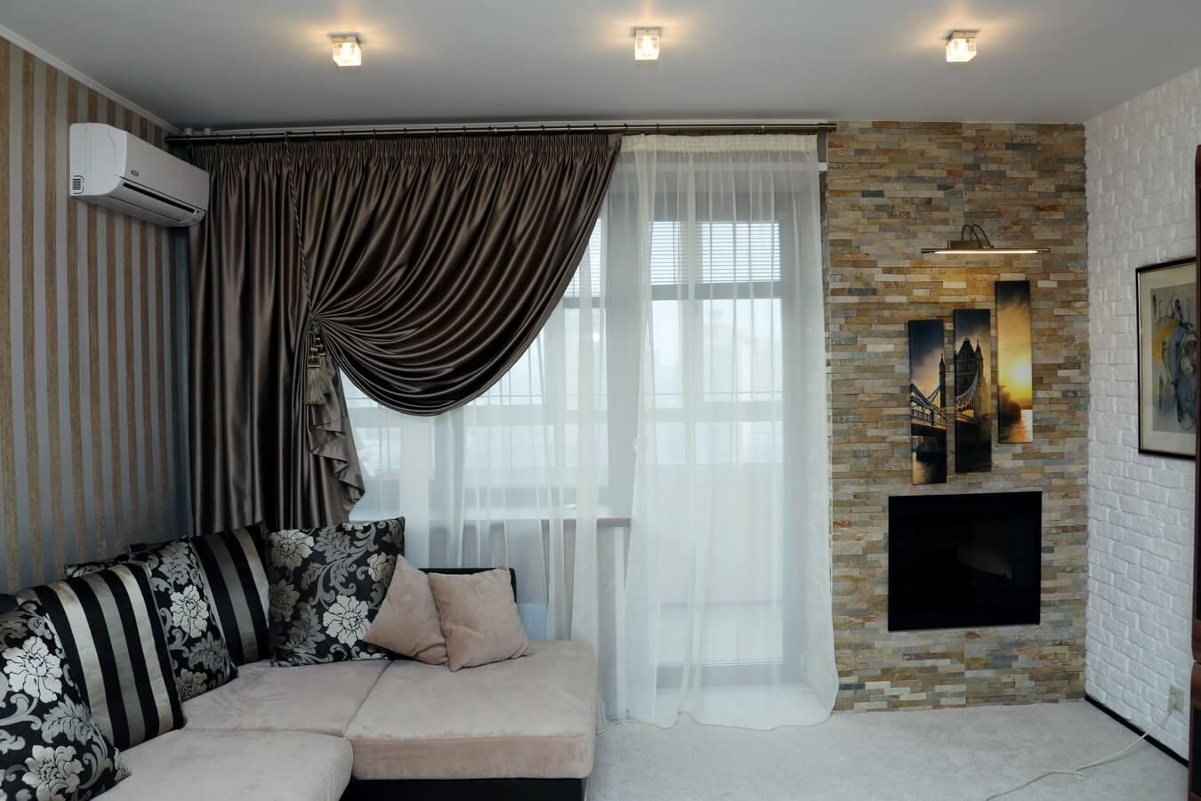 Выбор штор для разных комнат